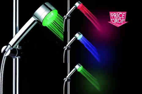ViVo Technologies - Led colour changing shower head - Save 70%