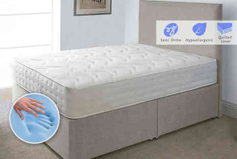 Midnight Dreams - Evolution CoolBlue memory sprung mattress - Save 82%