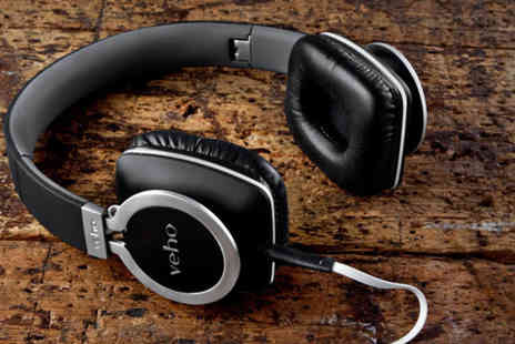 Deals Direct - Pair of Veho 360° Z8 designer aluminium folding headphones - Save 71%