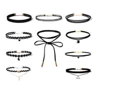 London Exchain Store - 10 piece choker set - Save 89%