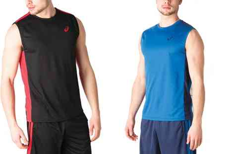 Groupon Goods Global GmbH - Asics Essentials Mens Sleeveless Top in Choice of Colour - Save 28%