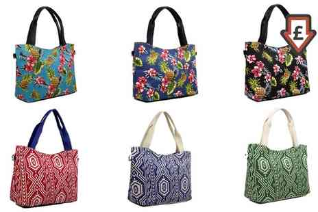 Groupon Goods Global GmbH - Womens Summer Canvas Tote Bag - Save 59%