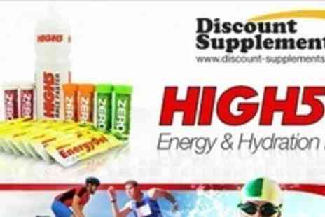 Discount Supplements - Three High 5 Energy and Hydration Packs - Save 60%