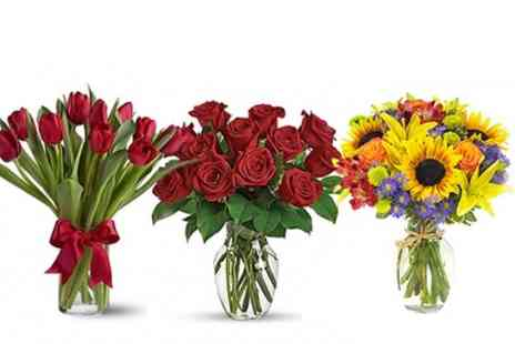 Flowers Delivery 4 U - Up to £50 to Spend - Save 50%