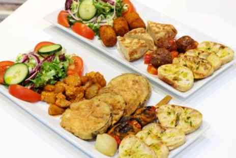 Sabrosa - Choice of Tapas, Dessert and Soft Drink - Save 44%