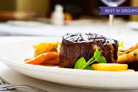 Doubletree Hilton - Steak Dinner with Prosecco, Wine or Beer for Two - Save 0%