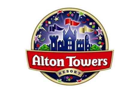 Alton Towers Resort - Family Visit to Alton Towers Resort with Lunch for Two Adults and Two Children - Save 0%