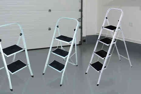 Direct 2 public - Foldable Step Ladder in 3 Sizes - Save 60%