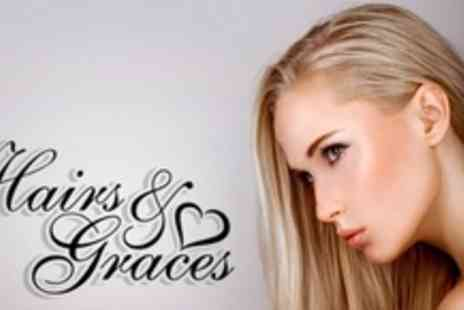 Hairs and Graces - Womens Wash, Cut, Blow Dry and Finish - Save 63%