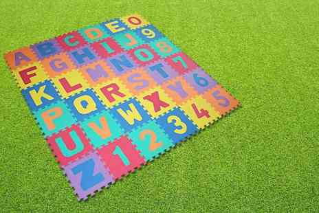 Nex Buy - 36 piece soft foam puzzle play mat - Save 72%