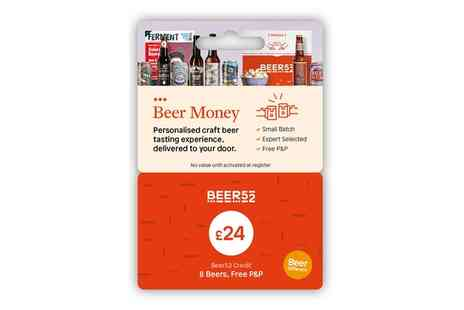 Beer52 - Beer Money Gift Card - Save 58%