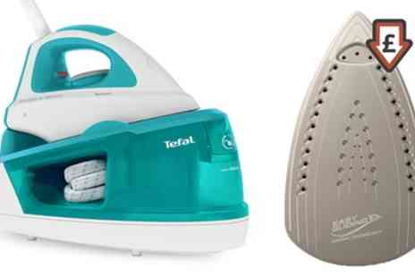 Groupon Goods Global GmbH - Tefal SV5011 2200W Steam Generator Iron With Free Delivery - Save 54%