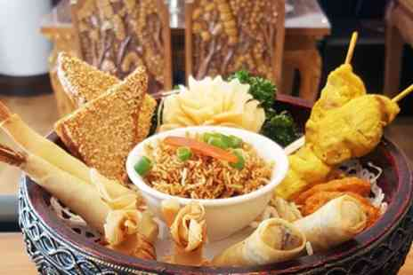 KinKao - Thai Shared Platter and Cocktails for Two or Four - Save 44%