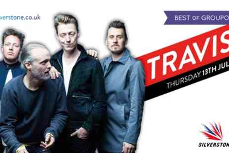 Travis at Silverstone - Ticket to see Travis at Silverstone on 13 July - Save 25%