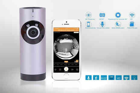 TLD Marketing - Fish eye home security camera - Save 83%