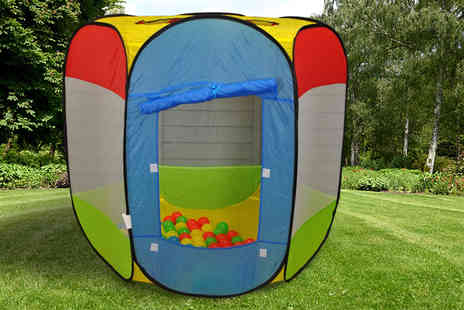 Groundlevel - Pop up dome play set with balls - Save 68%