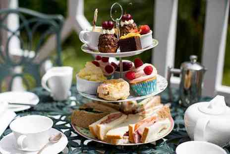 The Ainscow - al fresco Prosecco afternoon tea for two - Save 52%