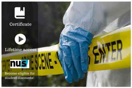 OfCourse - Online criminal investigation course bundle - Save 87%