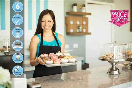 Centre of Excellence - Online cake making business diploma course - Save 85%