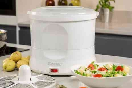 Groupon Goods Global GmbH - Electric Potato Peeler and Salad Spinner - Save 53%