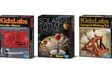 Groupon Goods Global GmbH - Set of Three Kidzlabs Science Education Kits - Save 34%