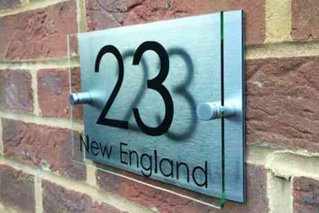 UK Sign Shop - Personalised Handmade House Sign - Save 53%