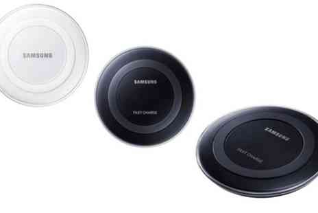 Groupon Goods Global GmbH - Samsung Wireless Fast Charging Pad or Station with Optional Travel Adaptor - Save 38%