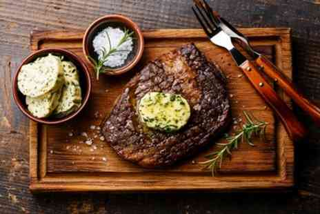 Al Verde - Steak Meal with Glass of Wine for Two or Four - Save 48%