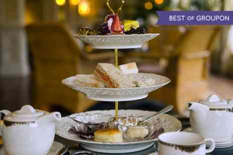 Cockliffe Country House Hotel - Champagne Afternoon Tea for Two or Four - Save 41%