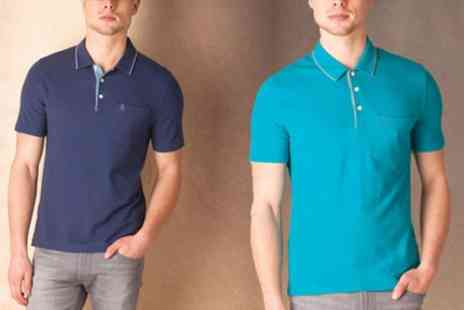 Groupon Goods Global GmbH - Original Penguin Mens Slim Fit Mearl Polo Shirt - Save 0%