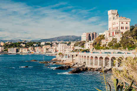 NH Genova Centro - Four Star Colourful City on the Italian Riviera - Save 63%