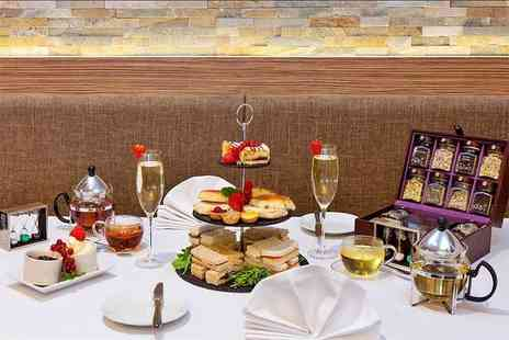 The Stadium View Bar & Terrace - Afternoon tea with Prosecco for two - Save 52%