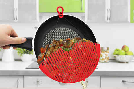 Ckent - Expandable clip on pan strainer - Save 78%