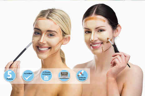 International Open Academy - Online contouring and highlighter expert course - Save 92%