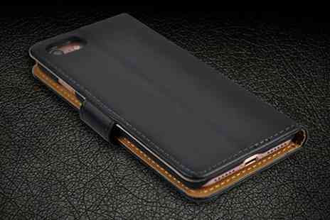 Groupon Goods Global GmbH - PU Leather Cases for iPhone 6, 6S, 6 Plus, 6S Plus, 7 or 7 Plus - Save 78%