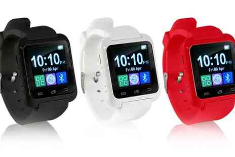 Groupon Goods Global GmbH - Apachie Bluetooth Smartwatch in Choice of Colour - Save 85%