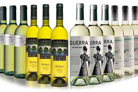 San Jamon - 12 Bottles of Assorted Summer White Wines - Save 58%