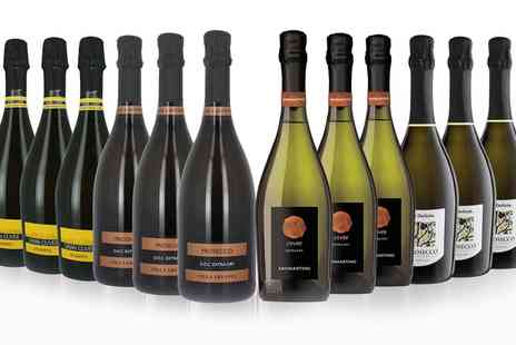 San Jamon - 12 Bottles of Italian Prosecco and Spumante With Free Delivery - Save 41%