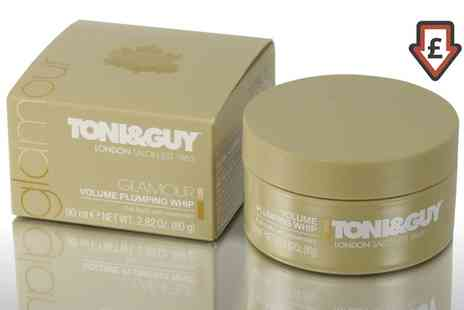 Groupon Goods Global GmbH - One or Two Pots of Toni&Guy Glamour Volume Plumping Whip - Save 70%