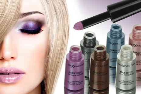 Groupon Goods Global GmbH - Three or Six Max Factor Max Effect Dip In Eye Shadows - Save 58%
