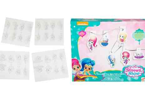 Groupon Goods Global GmbH - Shimmer and Shine Decorate Your Own Fairy Lights - Save 0%