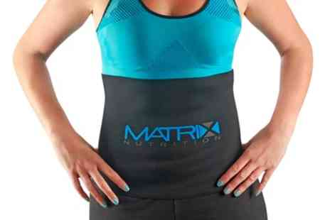 Groupon Goods Global GmbH - One Or Two Matrix Sauna Exercise Belts - Save 58%