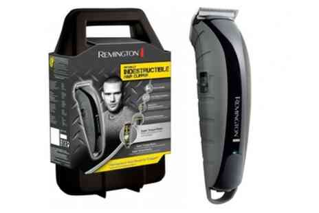 Groupon Goods Global GmbH - Remington HC5880 Virtually Indestructible Hair Clipper With Free Delivery - Save 49%