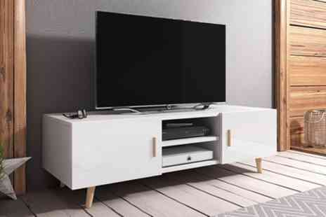 Groupon Goods Global GmbH - Selsey Rivano II TV Cabinet With Free Delivery - Save 53%