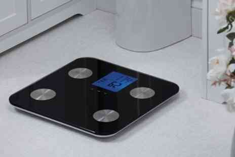 Groupon Goods Global GmbH - Seven in One Body Analyzing Scales - Save 64%