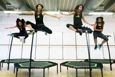 Jumping With Us - Five or Ten Trampoline Jumping Classes - Save 60%