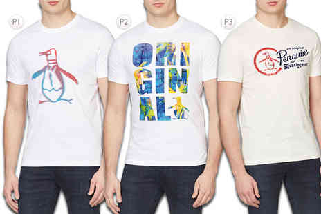 Deals Direct - An Original Penguin tshirt choose from eight styles - Save 0%