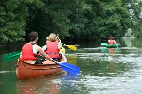 Frodsham Watersports Centre - Half day duo kayaking experience for two - Save 62%