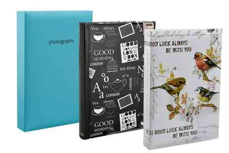 Groupon Goods Global GmbH - Photo Album for 300 Photos in Choice of Style - Save 0%