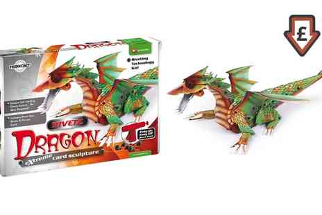 Groupon Goods Global GmbH - Technokit Rivetz Dragon 3D Construction Kit - Save 0%